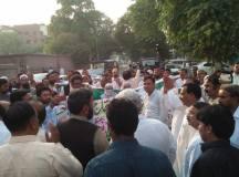 لاہور: پنجاب ٹیچرز یونین کا حکومت کی تعلیم دشمن پالیسیوں کیخلاف احتجاج