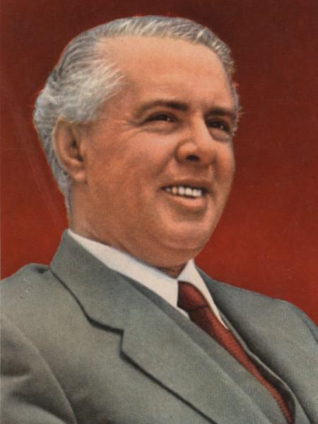 foto de Hoxha