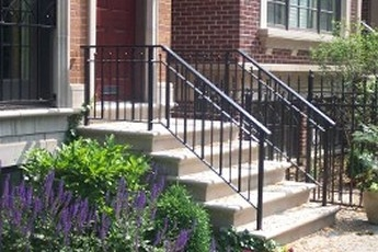 Stair Railing Installation Handrails For Concrete Steps | Outdoor Stair Railing Installers Near Me | Transitional Handrail | Cable Railing | Glass Railing | Porch Railing Kits | Vinyl Railing