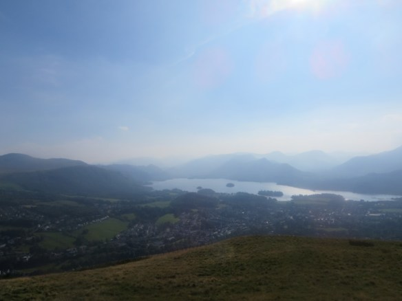Looking down on Keswick from Latrigg