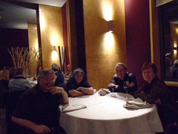 dinner in hotel