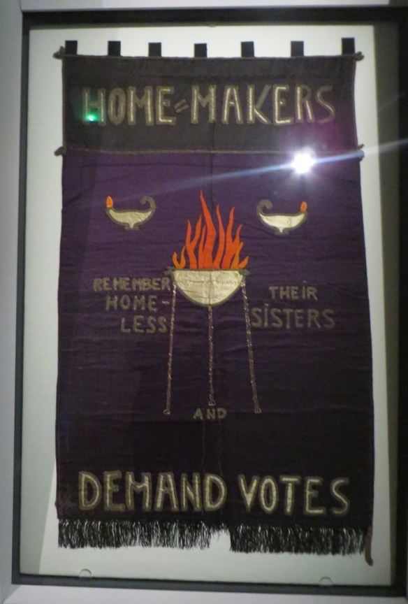 Home-Makers Demand Votes