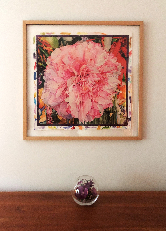 Joseph Raffael Artwork in my home
