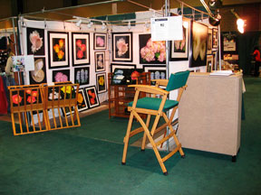 Conecticut Flower and Garden show with the artist, Mary Ahern.