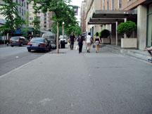 University Place after the Washington Square Art Festival