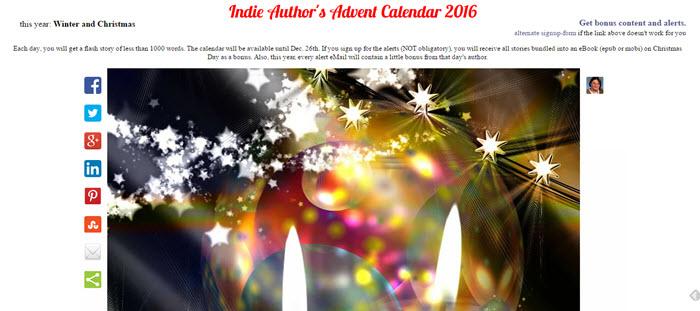 Indie Authors Advent Calendar
