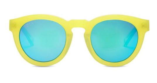 DIME II - WILD AND FREE - YELLOW - GREEN BLUE MIRROR LENS
