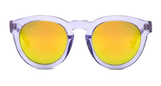 DIME II - WILD AND FREE - CLEAR FRAME - GOLD MIRROR LENS