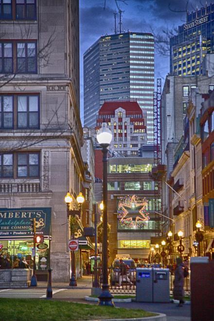 Tremont Street in Boston, MA
