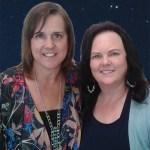 Marya OMalley with spiritual teacher Marissa Ryan