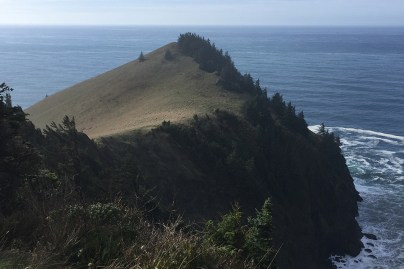 Cascade Head from Sitka Residency