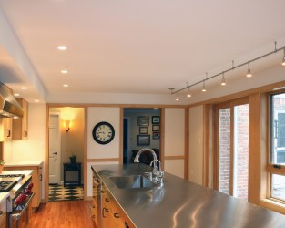 suburban house transformation Mary Cerrone Architecture & Interiors Pittsburgh