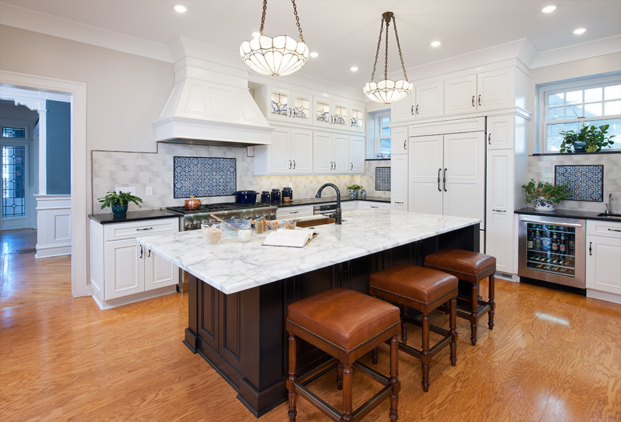 Center Hall House Kitchen Island Pittsburgh Mary Cerrone