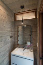 Pool Pavilion, Toilet Room. Mary Cerrone Architect, Shadyside, PA