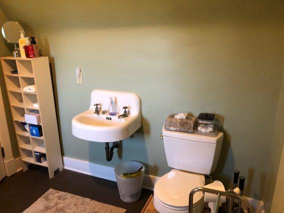 attic bathroom Mary Cerrone Architecture & Interiors Pittsburgh