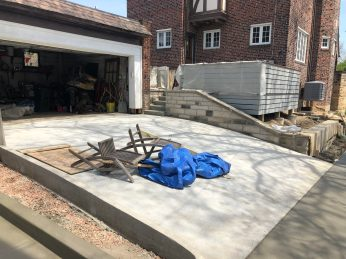 driveway connection to back yard Mary Cerrone Architecture & Interiors Pittsburgh