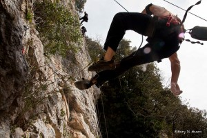 Climbing vs Speleology, Rome 2014