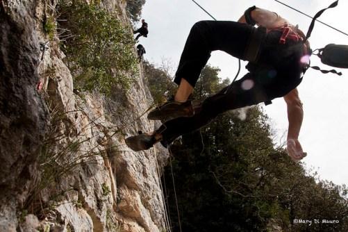 Climbing vs Speleology, Rome 2014