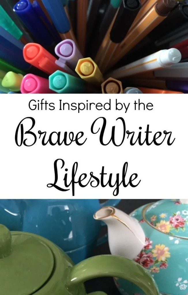 A list of gift ideas that are fun and practicall so that you will continue to use them all year. Check out these gift ideas inspired by the Brave Writer Lifestyle.