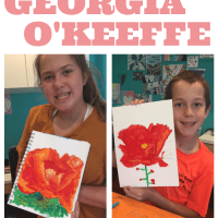 Artist Study for Kids: Georgia O'Keeffe