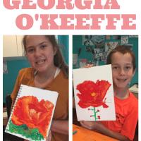 Artist Study for Kids: Georgia O'Keeffe