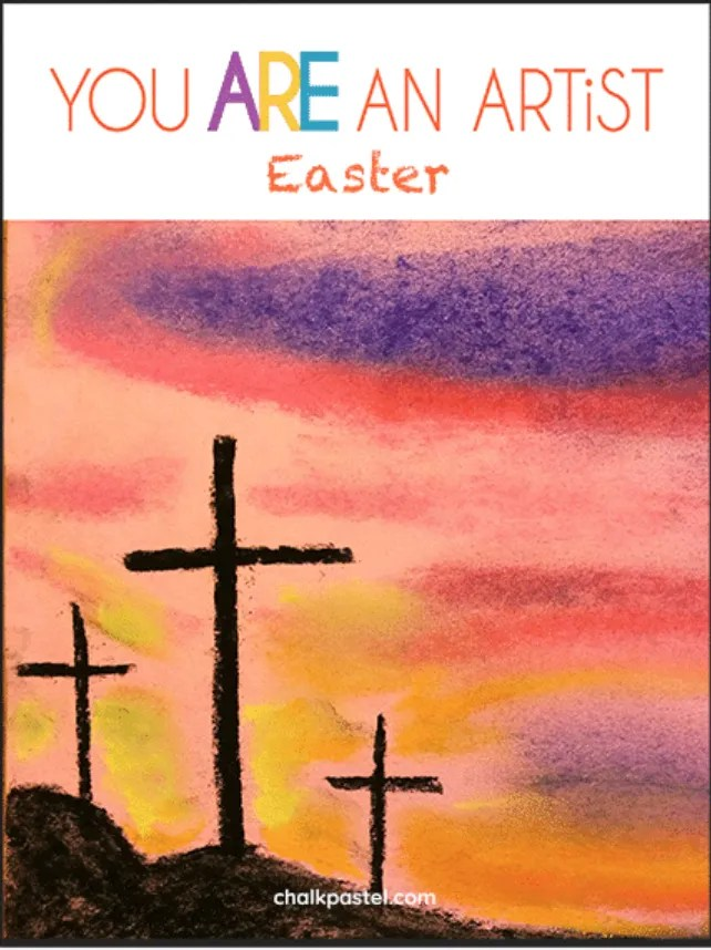 This 9 week chalk pastel course is perfect for family fun at Easter.