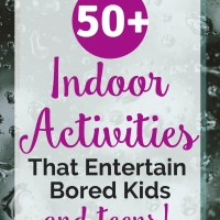 Creative Indoor Activities That Will Entertain Your Bored Kids