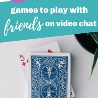 The Best Games You Can Easily Play Over Video Chat