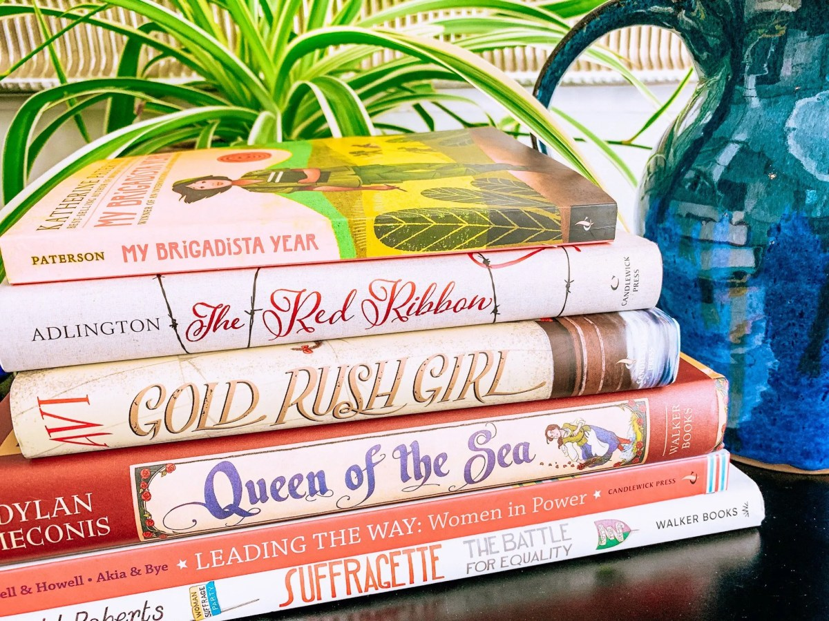 Women's History Books for Your Morning Time.