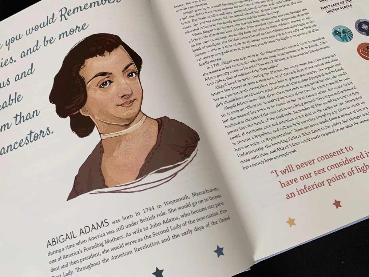 Enjoy women's history in yoru morning time with Candlewick Press