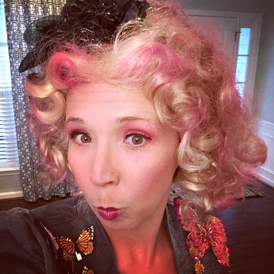 Effie Trinket attends our Hunger Games book club