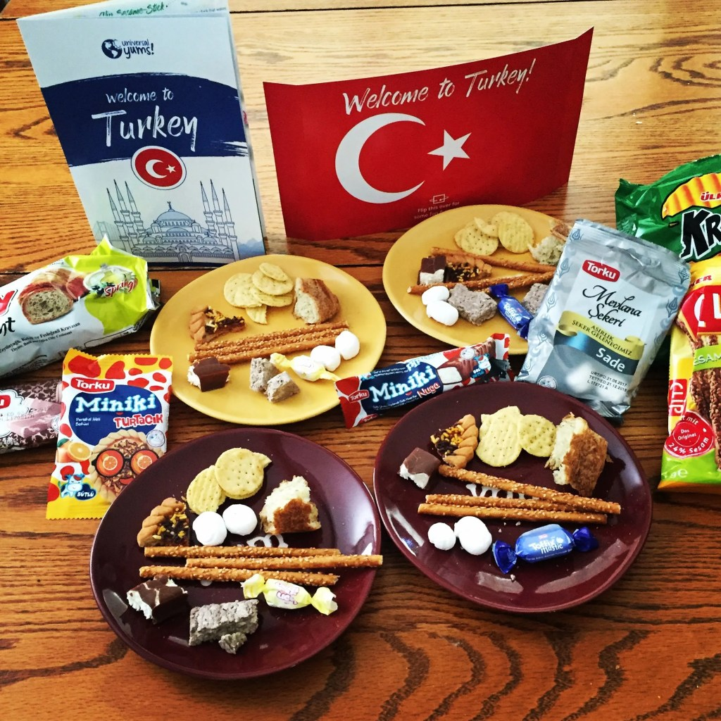 One poetry teatime idea is to host a geography party using Universal Yums!