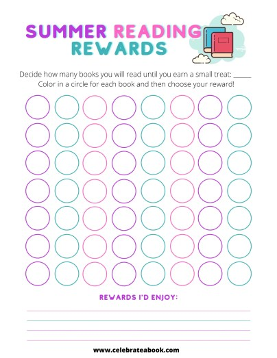 Keep track of the books you have read with this summer reading printable.