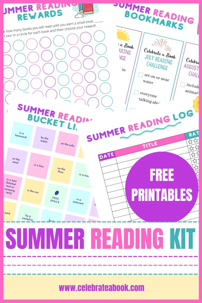 Summer Printables for reading