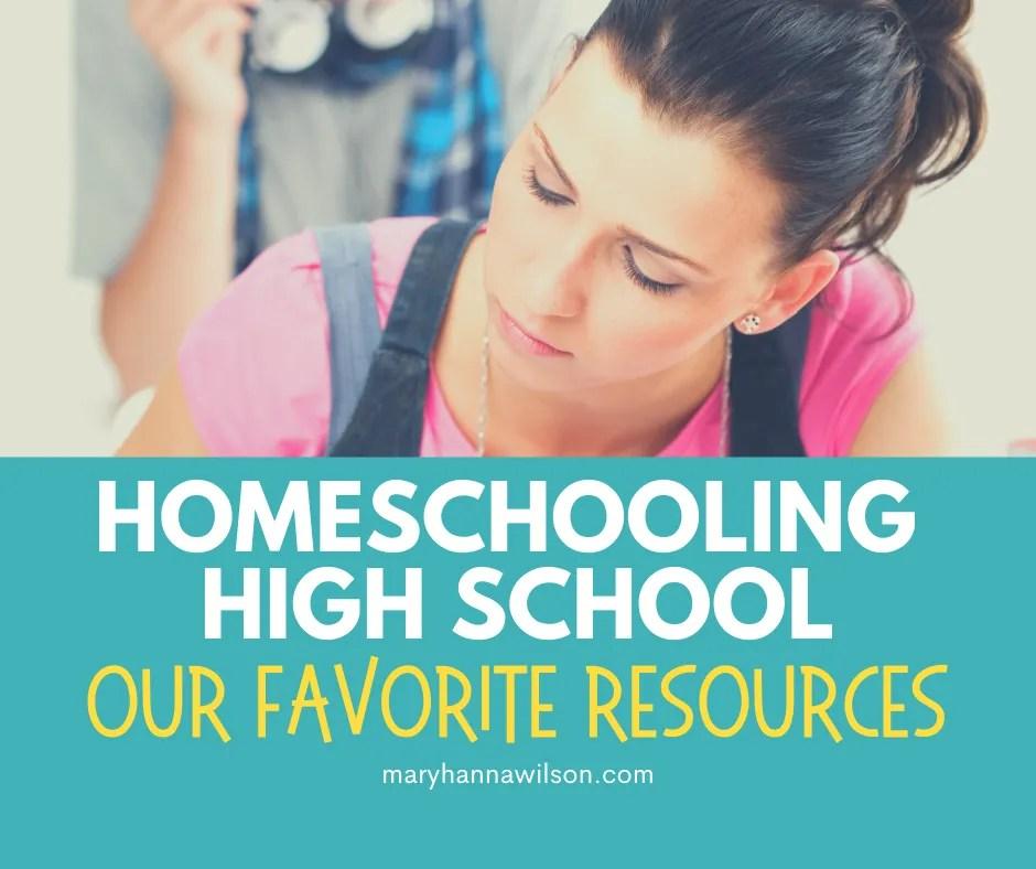 Homeschooling High School Resources