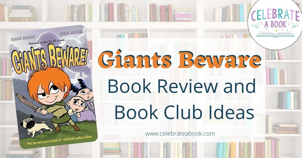 Giants beware Book review and book club ideas for kids