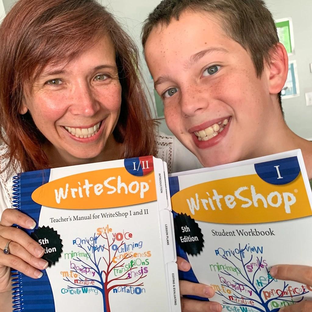 Using WriteShop I with my teen.