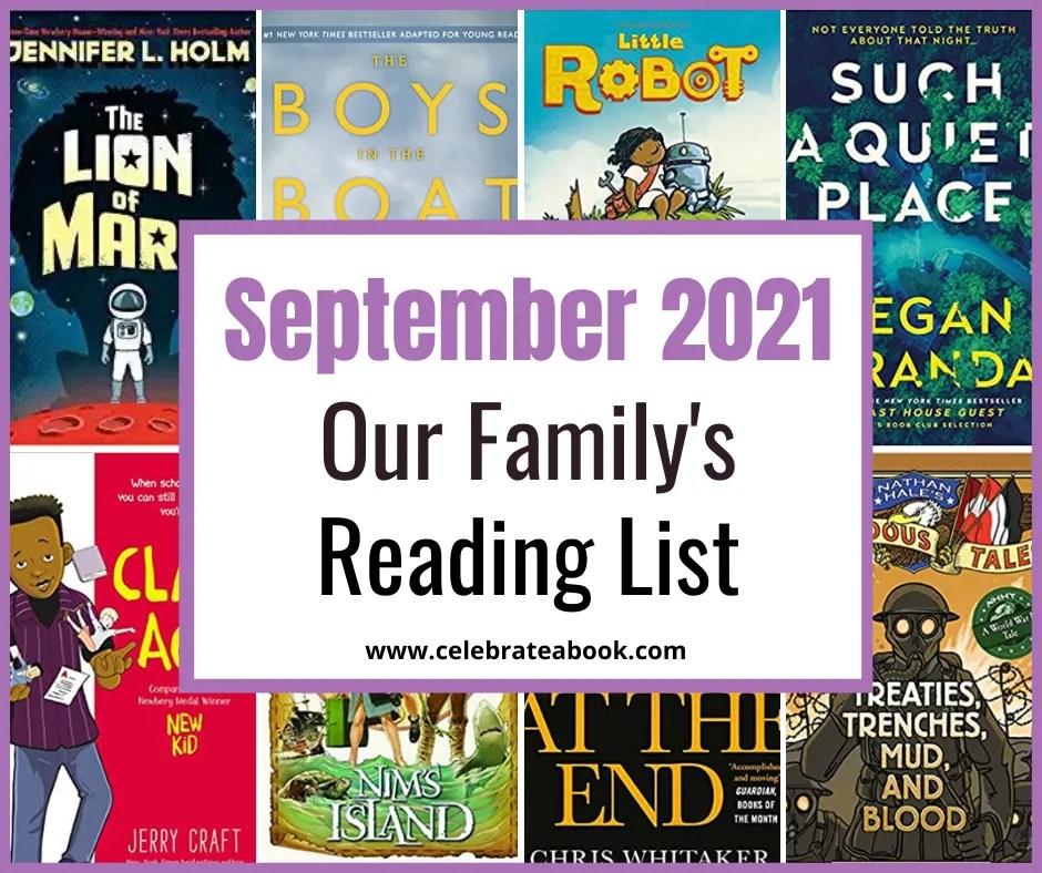 The books we reading in September