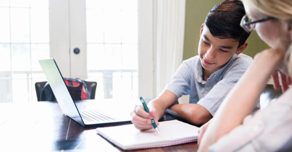 Homeschool Grammar course for teens with Mr. D