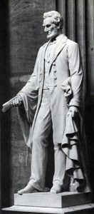 Lincoln statue by Vinnie Ream