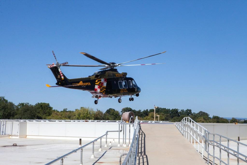 AW landing at Meritus
