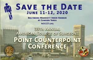 39th Annual ACS Point Counterpoint Conference @ Baltimore Marriott Inner Harbor at Camden Yards