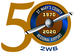 St. Mary's 50th Anniversary logo