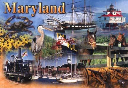 Maryland Notecards Postcards Pens
