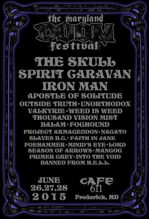 Maryland Doom Fest 2015