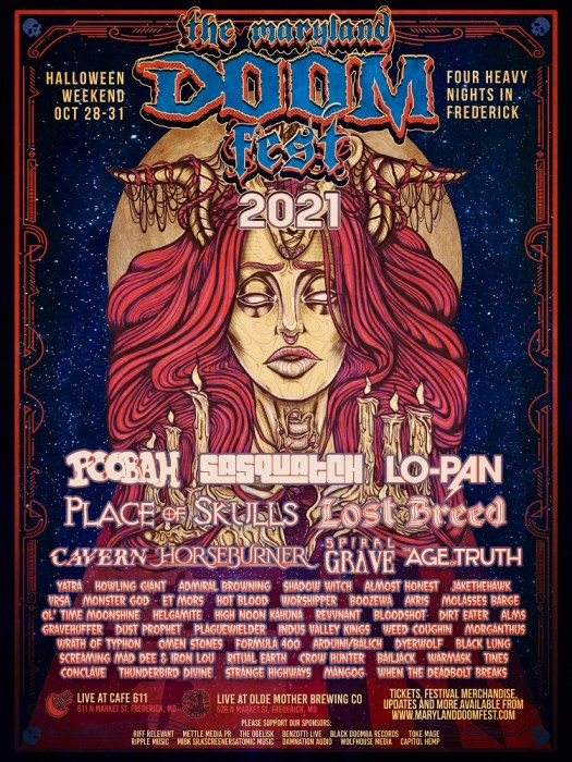 Maryland Doom Fest 2021 Poster