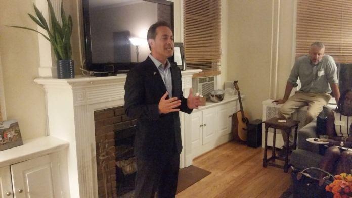 U.S. Senate candidate Neal Simon