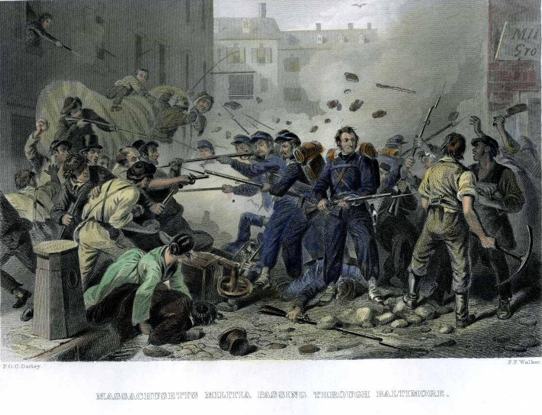 The Baltimore Riot, 160 Years Later: Shades of the Capitol Insurrection – Maryland Matters