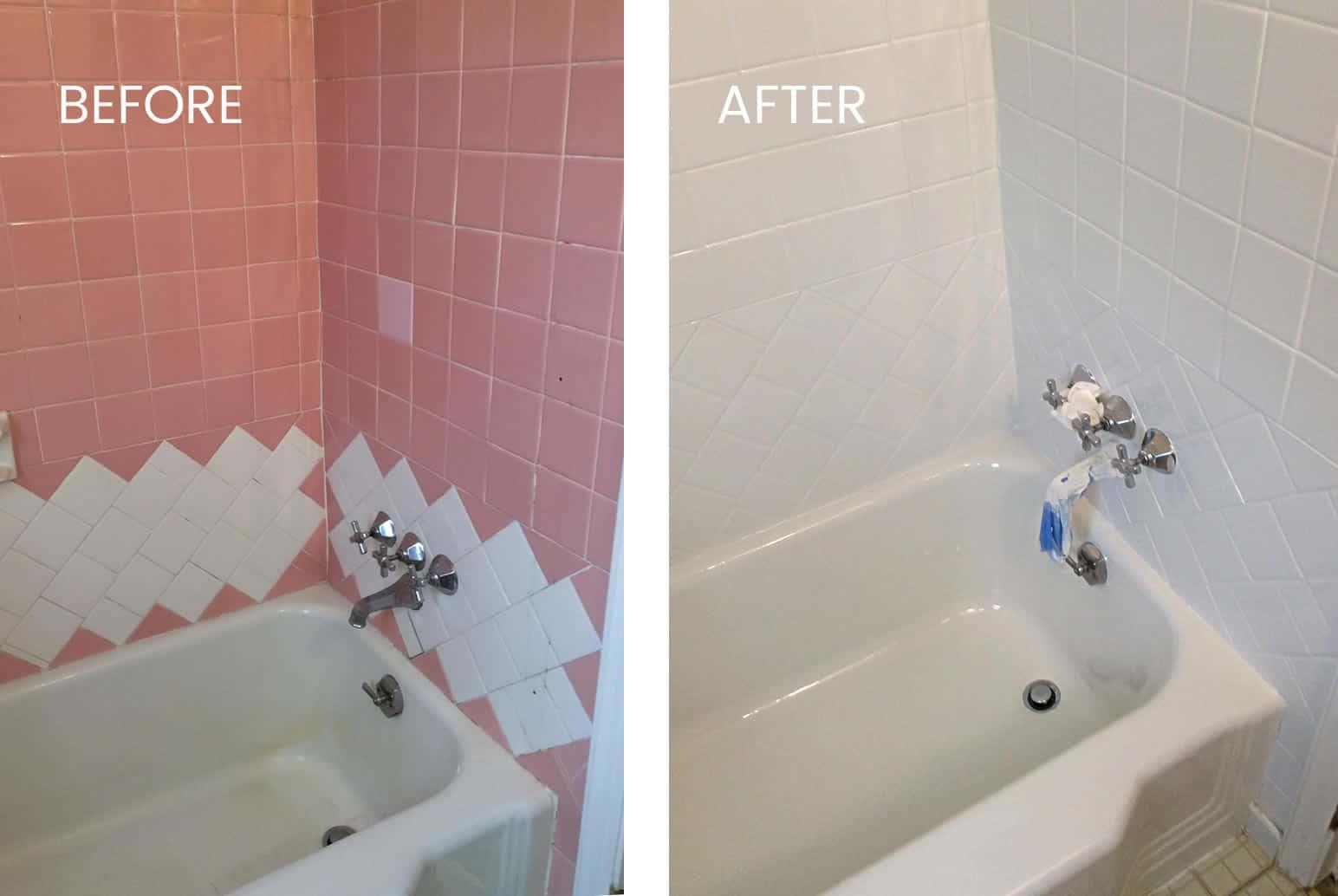 ceramic tile refinishing from start to