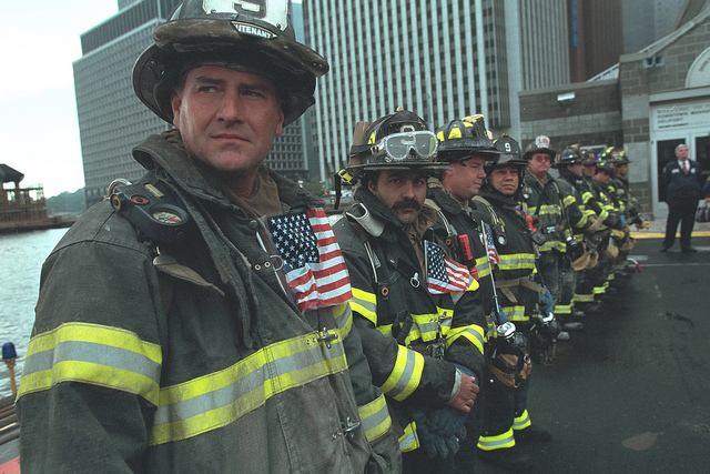 911: President George W. Bush Visits New York, 09/14/2001.
